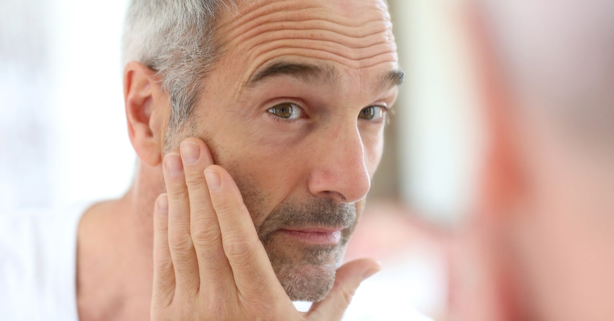 the right age for anti-ageing male