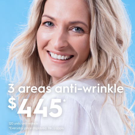 anti wrinkle beauty injections