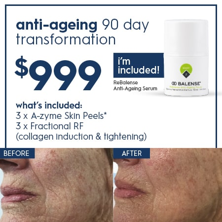 anti-agening 90 day transformation $999