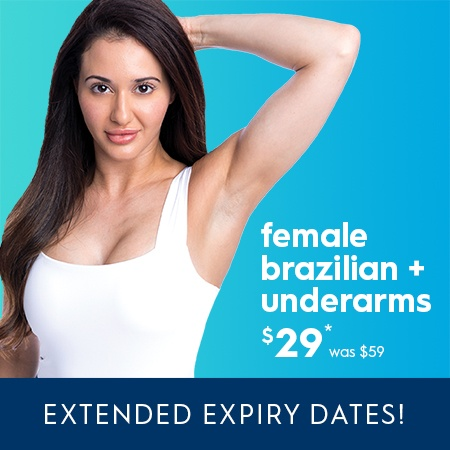 Brazilian and Underarm Laser Hair Removal