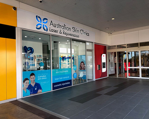 Australian Skin Clinic Townsville in the Castletown shopping center