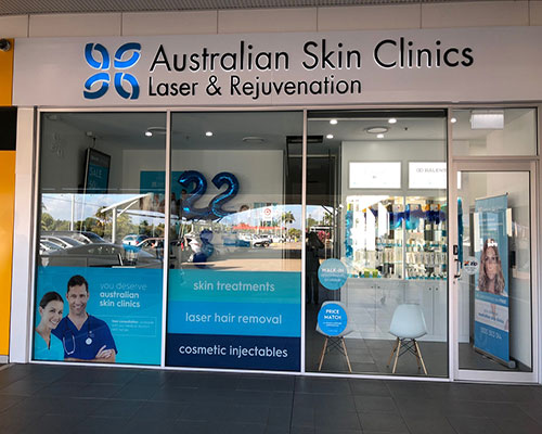 Australian Skin Clinics Townsville outside shopfront
