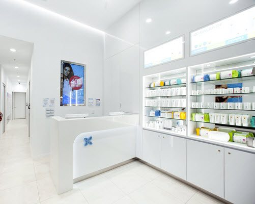 Inside treatment room at Chemside