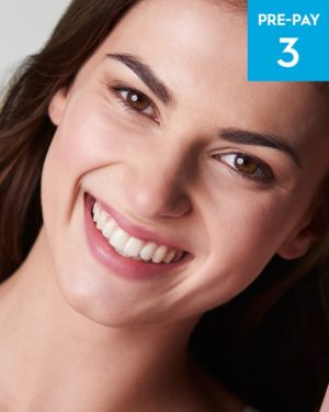 Fractional-RF Full Face 3 pack