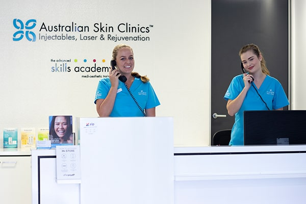 Friendly staff to help you with your skin and laser concerns