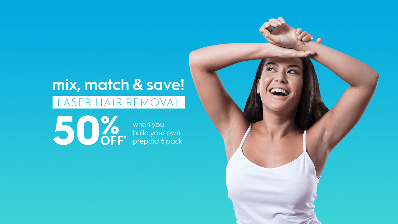 Laser hair removal and skin treatments Sale