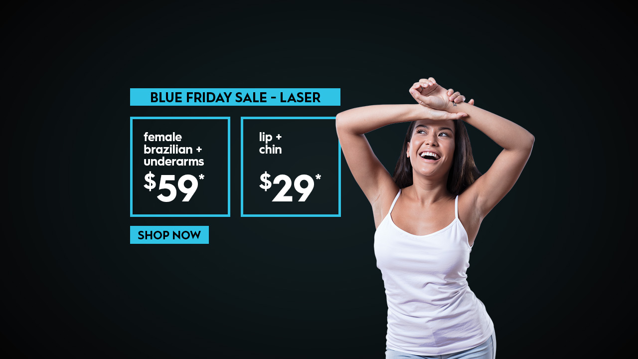 Black Friday Sale Australian Skin Clinics laser hair removal