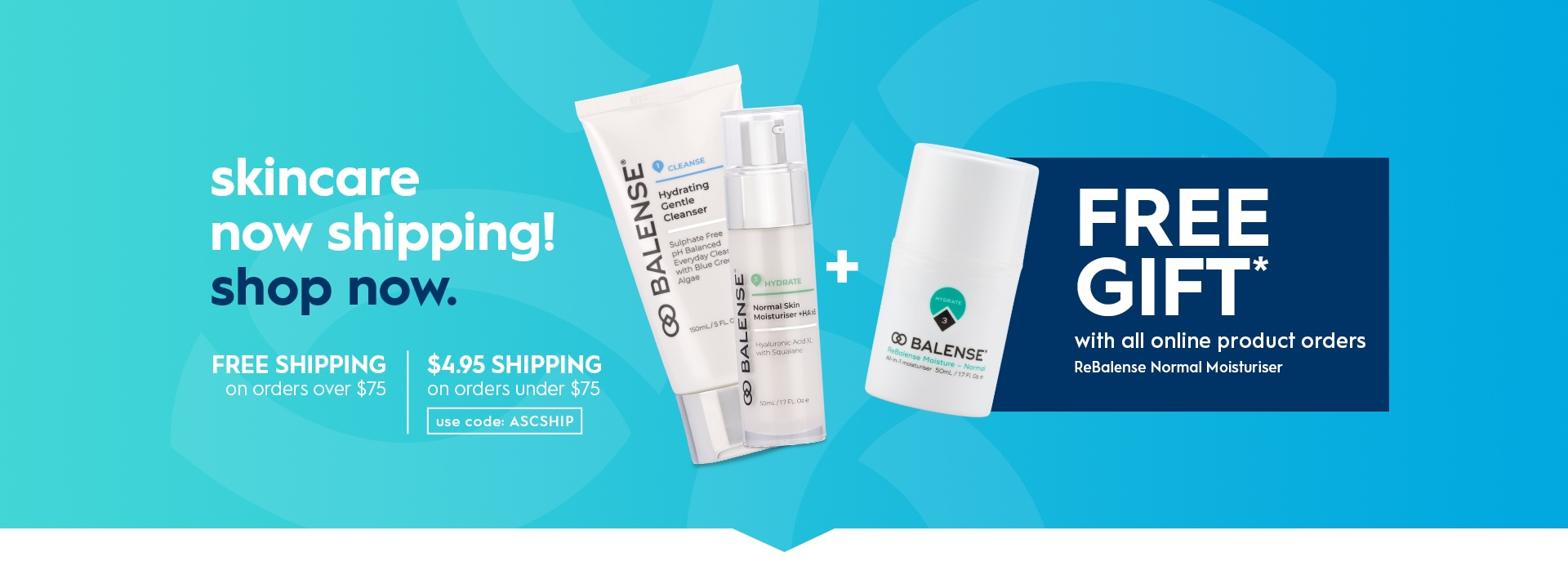 Balense skincare offer
