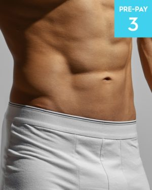 Laser hair removal brazilian male 3 pack