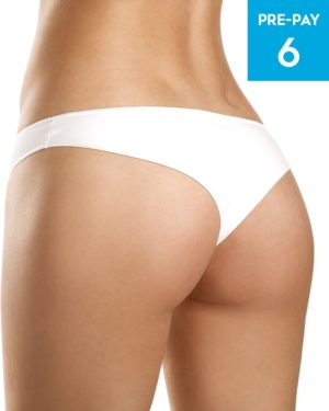 Laser hair removal buttocks 6 pack