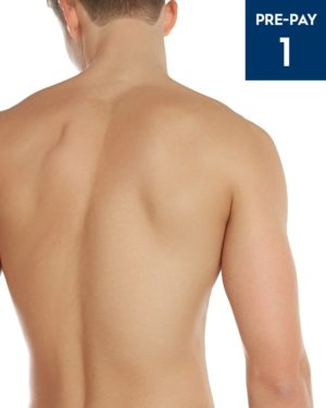 Laser hair removal chest & back