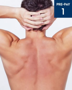 Laser hair removal chest & shoulders