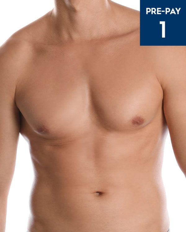 Laser hair removal chest & stomach