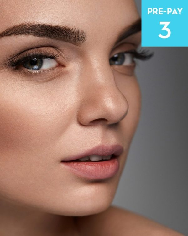 Laser hair removal Eyebrows 3 pack