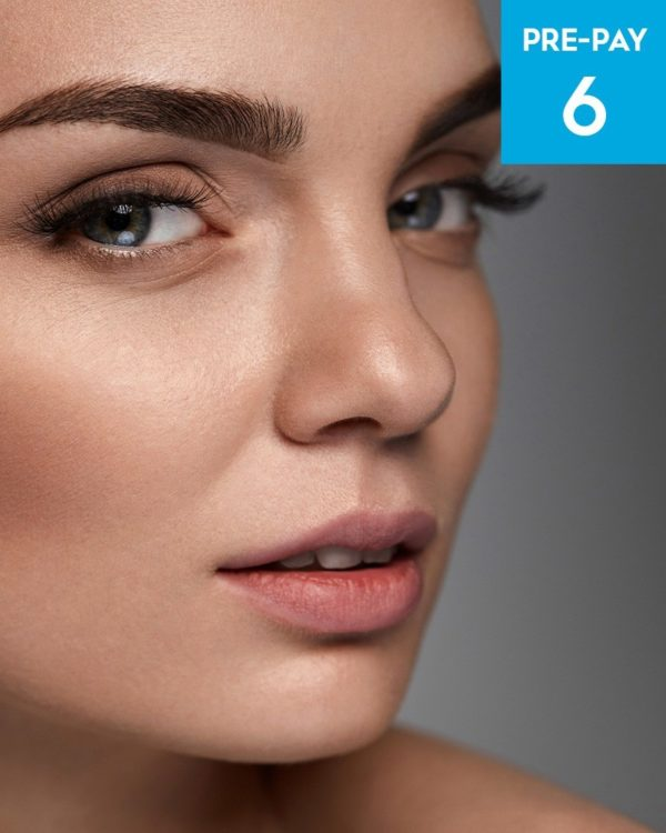 Laser hair removal Eyebrows 6 pack