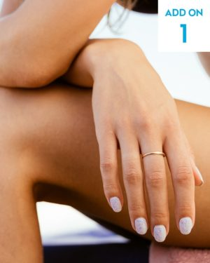Laser hair removal fingers add-on