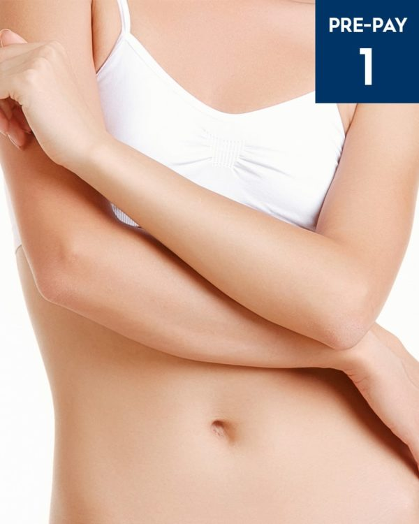 Laser hair removal full arms