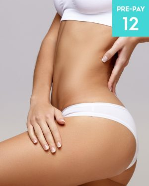 Laser hair removal full legs brazilian & underarms 12 pack