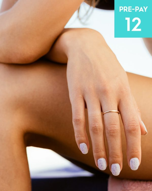 Laser hair removal hands & fingers 12 pack