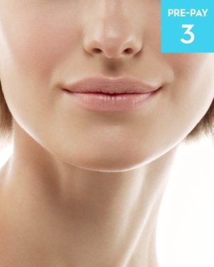 Laser hair removal jawline 3 pack