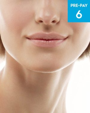 Laser hair removal jawline 6 pack