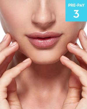 Laser hair removal lip & chin 3 pack