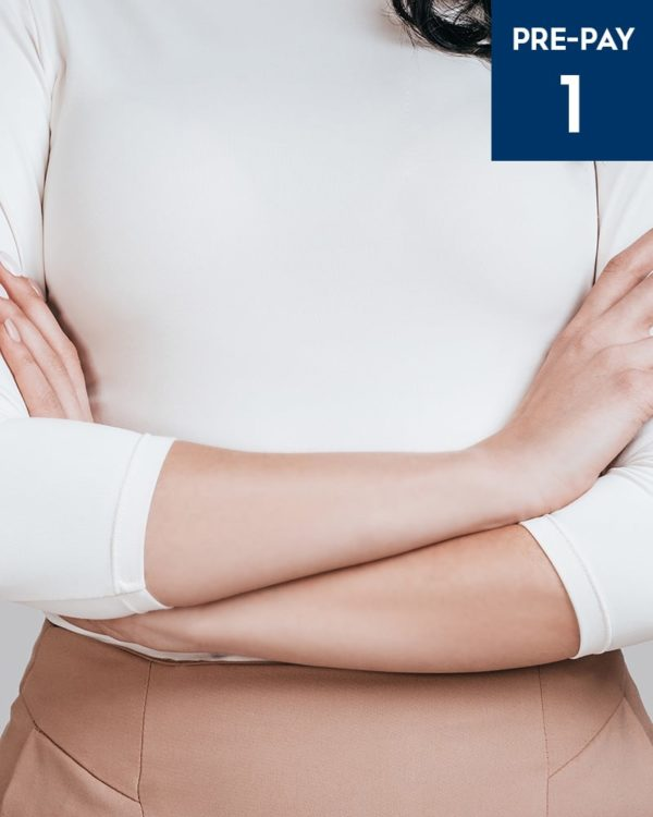 Laser hair removal 1/4 arms