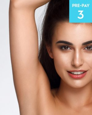Laser hair removal underarms 3 pack