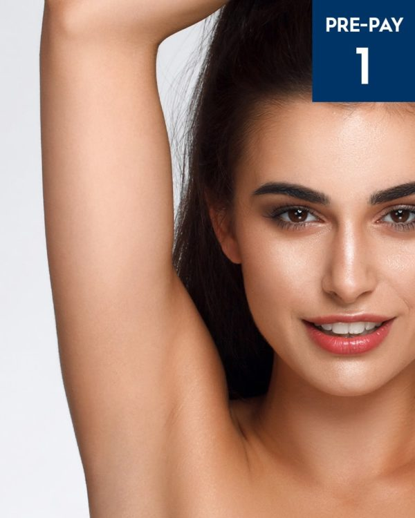 Laser hair removal underarms