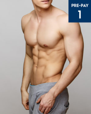 Male Half Body Torso Laser Hair Removal