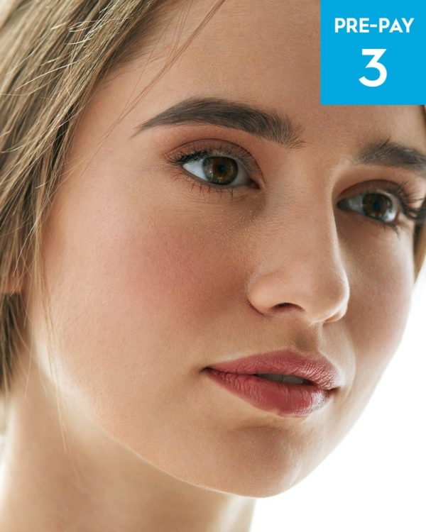 High performance microdermabrasion 3 pack