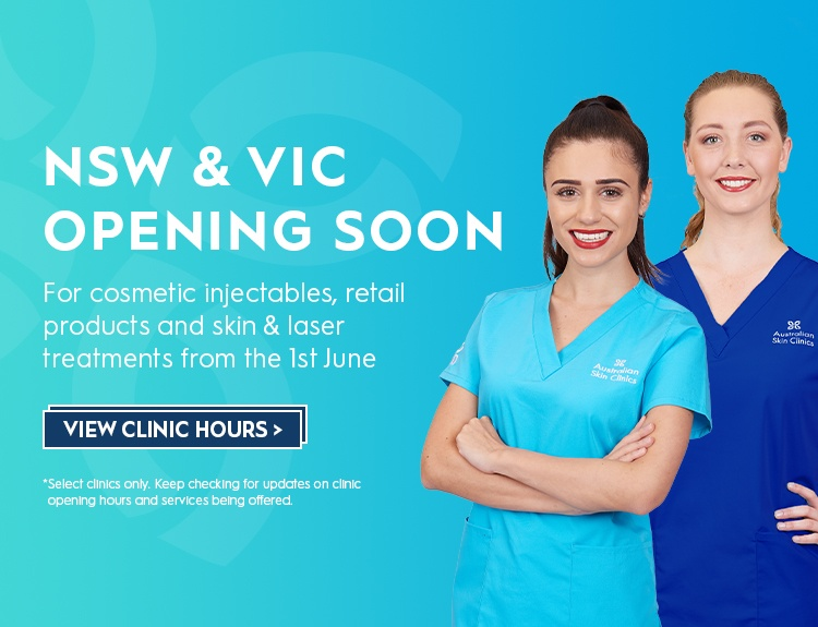 NSW & VIC Clinics Re-Opening Soon