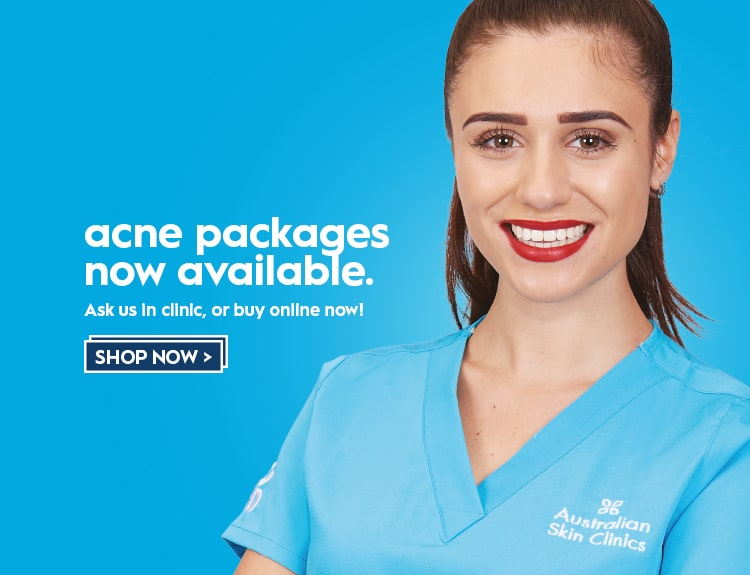 Your experts in skin- acne packages
