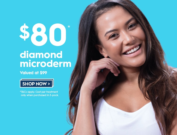 $80 diamond microdermabrasion from the experts in skin