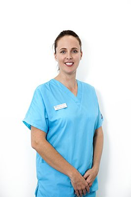 Registered Nurse Sarah Cahill