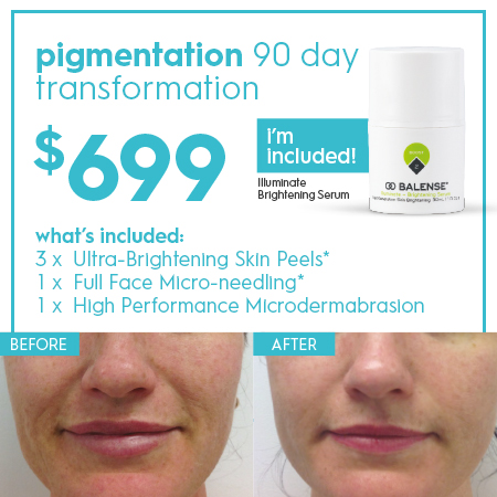 Pigment-Pack 90 day skin transformation $699