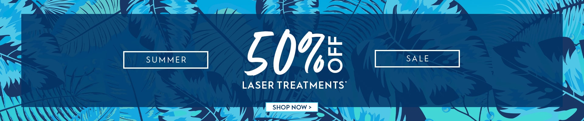 Australian Skin Clinics Summer Sale - 50% off Laser Hair Removal + 25% off Cryo Fat Freezing