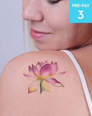 Laser Tattoo Removal 8cm 3 pack